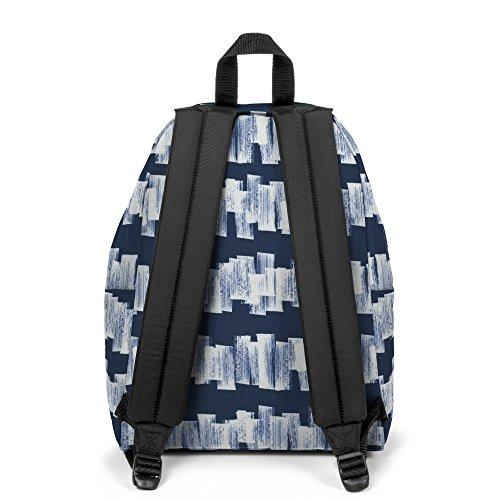 Eastpak Padded Pakr Polyamide,Polyester Blue,Brown,Grey,Red backpack - Backpacks (Polyamide, Polyester, Blue, Brown, Grey, Red, Monotone, 35.6 cm (14), Front pocket, Zipper) Multicolore (Doodle Tag)