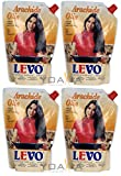 [ 4x 750ml ] LEVO 100% Erdnussöl / Arachide Olie / Peanut oil + ein kleines Glückspüppchen - Holzpüppchen