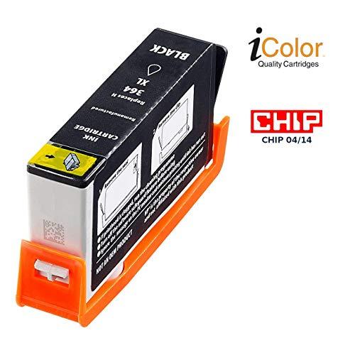 iColor Officejet 4622, HP: Patrone für HP (ersetzt CN684EE, No.364XL), black (Photosmart Premium C 7380, HP)