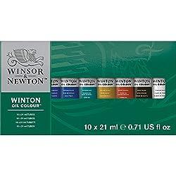 Winsor & Newton Winton - Juego de tubos de pintura para óleos (21 ml, 10 unidades)