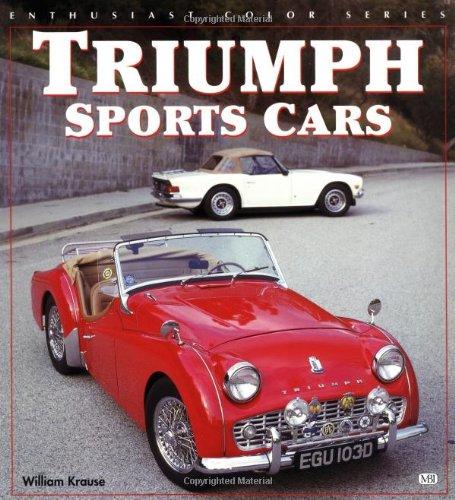 Triumph Sports Cars (Enthusiast color series) por Bill Krause