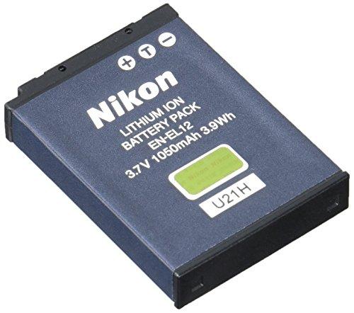 Nikon EN-EL12 Lithium-Ionen-Akku für Nikon Coolpix (Nikon Lithium-batterie)