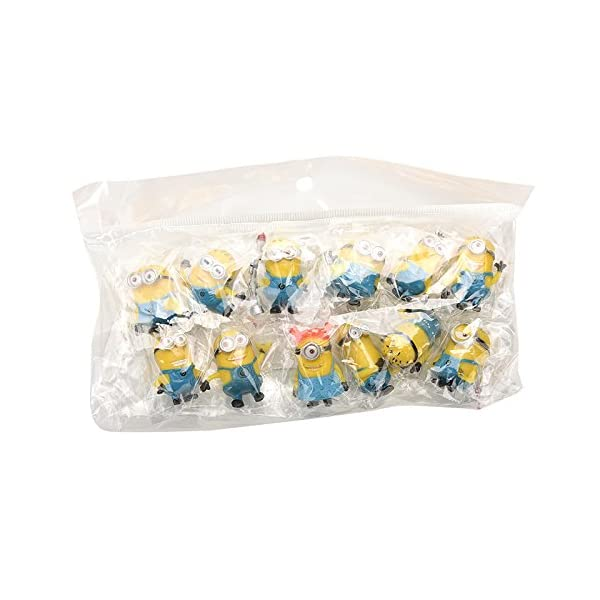 Bestim Incuk - Figuras de acción de Minions de la película Gru 2: Mi Villano Favorito 6