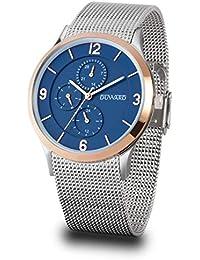 1f5f79b4822b Reloj Duward Hombre en Acero Malla milanesa
