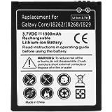Avizar - Batterie Compatible 1900mAh Samsung Galaxy Core I8260 et Core Duos I8262 - remplace Samsung B150AE