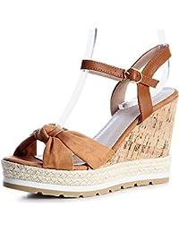 topschuhe24 - Sandalias de vestir para mujer