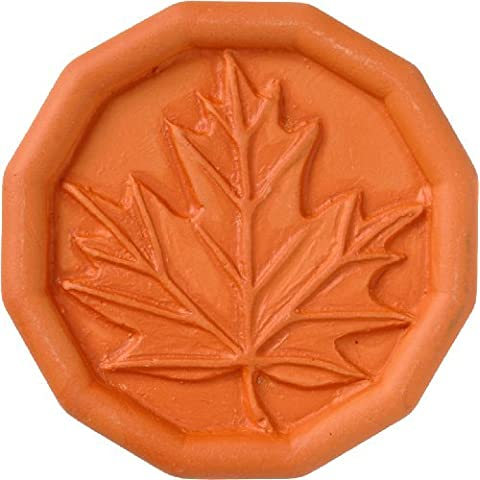 JBK Maple Leaf Terra Cotta Brown Sugar Saver by JBK Pottery
