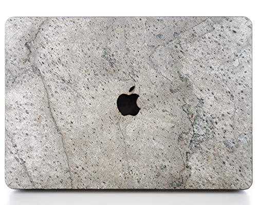 WooDWE Echt Stone MacBook Hard Case für Schutz - Für Mac Pro 15