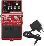 BOSS RC-3 Loop Station Looper + bloc d'alimentation 9 V