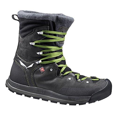 SALEWA - Snowcap Waterproof - Halbhoher Winterstiefel Herren, Scarpe da arrampicata Uomo Nero (Carbon 0768)
