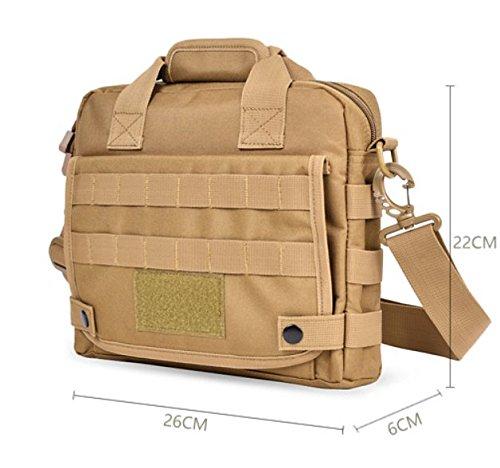 Tragbares Multifunktions Tote/Lässige Umhängetasche/Outdoor-Bergsteigen-Tasche B
