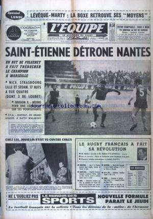 EQUIPE (L') [No 6434] du 05/12/1966