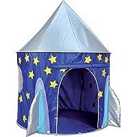 Vivo © Blue Space Rocket Pop Up Indoor / Outdoor Boy's Play Tent Playhouse Den Garden