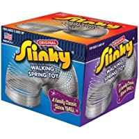 POOF-Slinky Model #100 Metal Original Slinky in Box, Single Item, Silver Model: 100