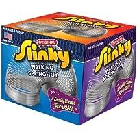 poof- Slinky modèle #100 métal Original Slinky en boîte, simple Article, ARGENT Modèle: 100