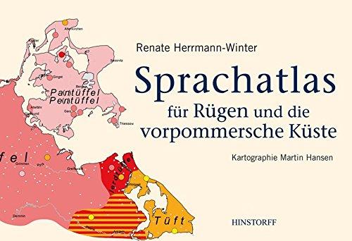 Sprachatlas für Rügen und die vorpommersche Küste
