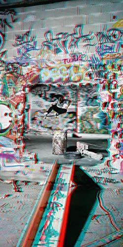 Skateboarding 3D por Sebastian Denz