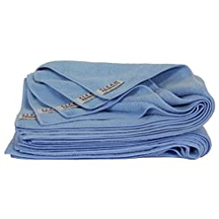 cleanofant 5pezzi set panno Panni Blu Maxi 62x 50cm–di alta qualità In Microfibra Panno per la pulizia + Cura di roulotte, camper, caravan