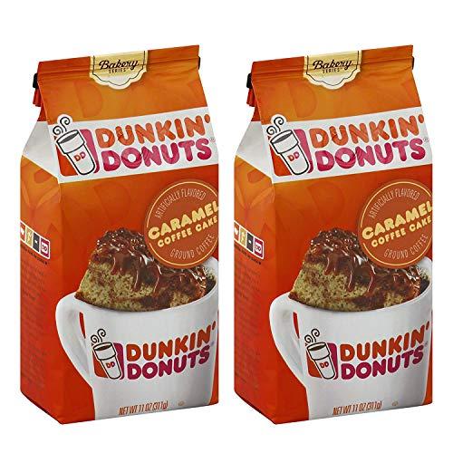 Dunkin' Donuts Bäckerei-Serie Caramel Kaffee-Kuchen, aromatisiert gemahlener Kaffee - (Pro Beutel...