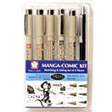 #1: Sakura Manga Comic Kit, Black