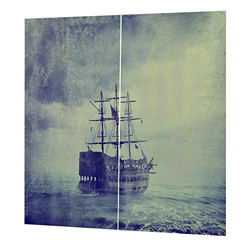 gfjfghfjfh Sheer Blackout Vorhänge für Wohnzimmer Bettwäsche Zimmer Wanddekor Schimmel und Falten-Prozess