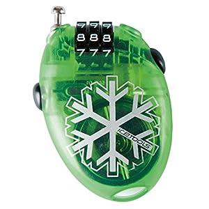 Icetools Mr. Lock Diebstahlsicherung Snowboard mit Code zu 4Zahlen hellgrün