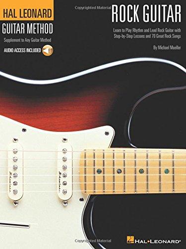 Hal Leonard Guitar Method: Rock Guitar (Book/Online Audio) (Hal Leonard Guitar Method (Songbooks))