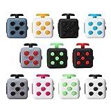 Cube Würfel, LuckyFine Zappeln Cube Würfel unruhige Hände Anti Stresswürfel Cube, Perfektes Spielzeug für Entlastet Stress, Angst und Langeweile Bekämpfen # 9