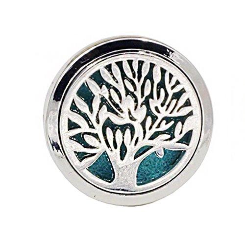 Beaums acciaio car air vent deodorante olio essenziale diffusore di aromaterapia clip purificatore per auto-styling decoration
