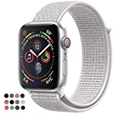 Niyo Sport Wristbands Compatible for Apple Watch Band 38mm 42mm, Nylon Sport Loop