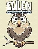 Eulen-Malbuch für Kinder