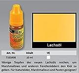 FTM Lachsöl 10ml - Fischlockstoff zum Forellenangeln & Aalangeln, Lockmittel für Forellen,...