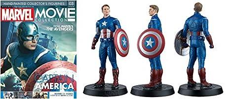 Marvel Movie Collection Figure #3 Captain America