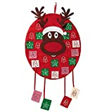 ADVENTSKALENDER zum selbst befüllen Elch Weihnachtskalender Kinder Männer Frauen ~mp 825