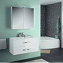 Amazon ensemble meuble vasque miroir salle bain