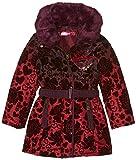 Desigual Mädchen Mantel Abrig_SINITA, Rot (Burdeos 3006), 104 (Herstellergröße: 3/4)