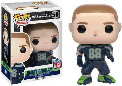 Funko 10221 No Actionfigur NFL 3: Jimmy Graham (Seahawks), Einheitsgröße