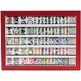 Lychii 100 PCS Washi Tape, Tape Decorativo Coprente per lavoretti di Fai da Te, diari, Biglietti, Schizzi