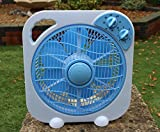 12V DC Portable Fan for Caravan, Camping, Boat, Solar Power by PK Green