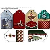 Etiquetas de Regalo de Navidad Media Docena 2by Mary Jane Harris