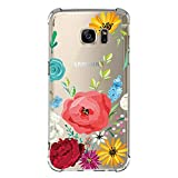 Teryei Samsung Galaxy S7/s7 Edge TPU Silikon Stoßfänger Hülle Tasche Handyhülle Clear Ultra dünn Silikonhülle Durchsichtig Handy Galaxy Samsung Galaxy S7 Edge (Samsung Galaxy S7, 7)