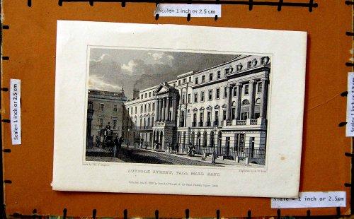 impression-1829-darchitecture-de-londres-de-mail-de-cercueil-de-rue-du-suffolk