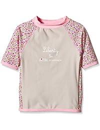 T-Shirt Maillot Anti-UV - Enfant - Fille - Liberty - Little Scherrer pour JEAN LOUIS SCHERRER