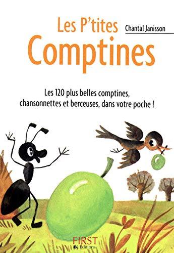 Le Petit livre de - Les P'tites Comptines par Chantal JANISSON