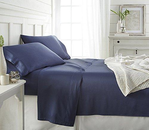 Ienjoy Home Home Collection Premium Bambus 4teilig Spannbetttuch Set -