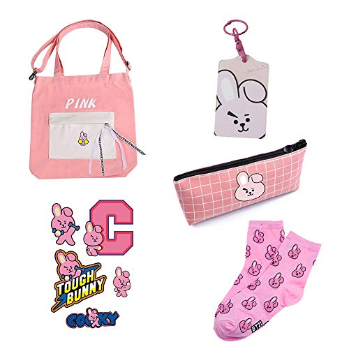 Novelty & Special Use Honest Kpop Bts Bangtan Boys Bt21 Tata Cooky Chimmy Shoulder Portable Jelly Transparent Bag Cosmetic Bag Canvas Shopping Bag Hangbag Reasonable Price