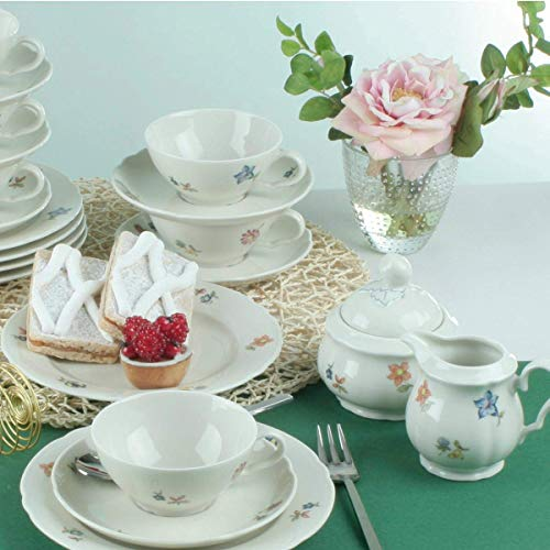 Seltmann Weiden Marieluise Blütenmeer Teeservice 20-teilig, Bunt