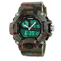 Highdas Multifunction Men's Sports Watches Creative Wristwatch 6 Colors