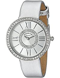 Stuhrling Original Reloj con movimiento cuarzo japonés Woman Vogue 566 Gris 34.0 mm