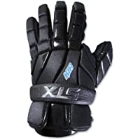 STX Lacrosse–K-18Lacrosse guantes - GE K84F 01 BK/XX, S, Negro